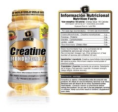 Creatina x300Grs. Gold Nutrition