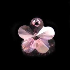 SW-304-Flor Swarovski 14mm - Light Rose