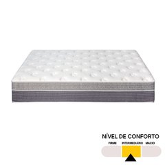 Conjunto Queen Sleep Fresh Sankonfort com Box Universal Preto 158x198x71cm na internet