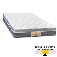 Conjunto King Sleep Fresh Sankonfort com Box Universal Preto 158x198x71cm na internet