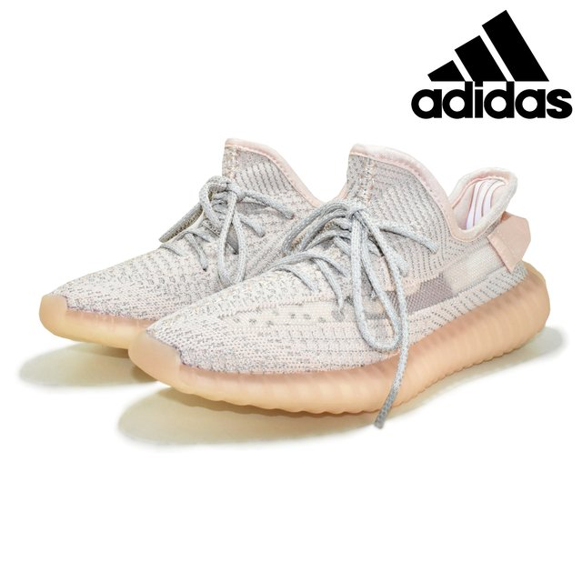 Adidas Yeezy Boost 350 - Branco e Salmão