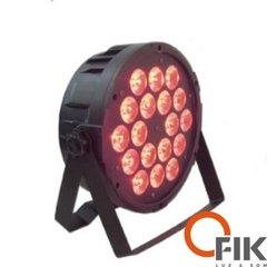 Refletor Par 64 Led Rgbw 18X8W Full Slim 180W