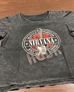 REMERA NIRVANA ROCK - comprar online