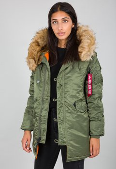 ALPHA PARKA N-3B WOMAN