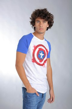 REMERA RANGLAN MARVEL SHIELD