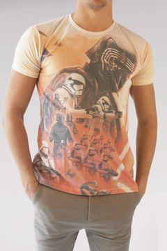 REMERA STAR WARS FULL KYLO R0S