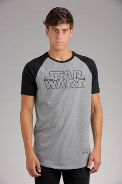 REMERA STAR WARS LOGO R0F