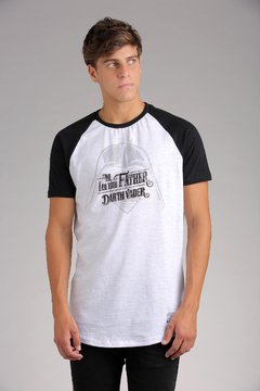 REMERA STAR WARS FATHER QUOTE R0F - comprar online