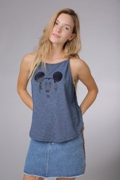 MUSCULOSA MICKEY FACE - ReverPass