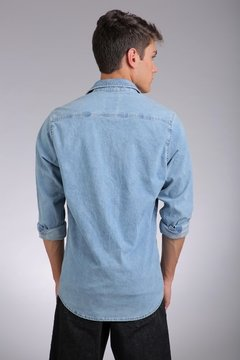 CAMISA HARBOUR DENIM R0S - ReverPass