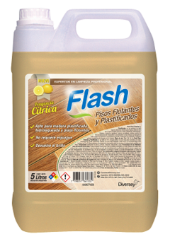 Flash Pisos Plastificados Diversey 5L
