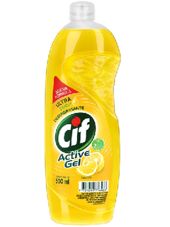 Detergente CIF Active-Gel LIMON 500 Ml