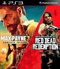 Combo Max Payne 3 Complete Edition + Red Dead Redemption