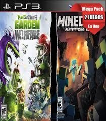 Combo Minecraft + Planta vs. Zombies: Garden Warfare
