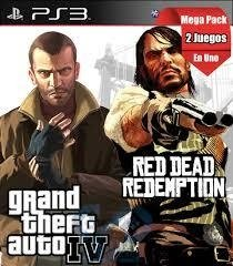 Combo Rockstars GTA 4 + Red Dead Redemption