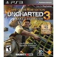 UNCHARTED 3 DRAKE'S DECEPTION GOTY EDITION