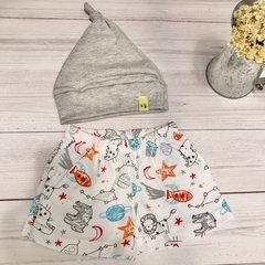 Set BABY space gris