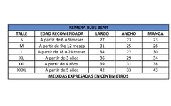 Remera BLUE BEAR en internet