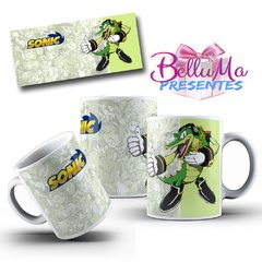 Caneca Personalizada Vector The Crocodile - Sonic