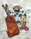 Conjunto Mickey Safari