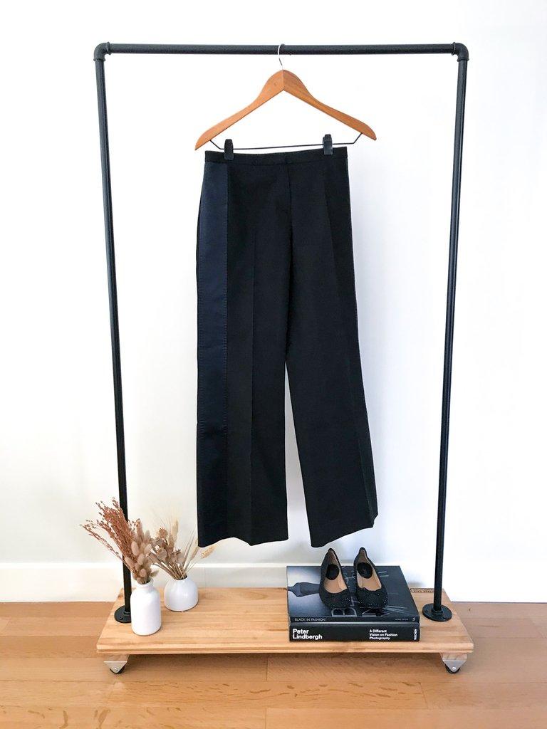 Pantalon Oxford Negro Hugo Boss Mujer Nuevo