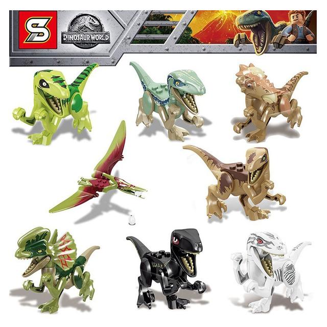 Lego Alternativo Sy1238 Pack X 8 Bloques Dinosaurios En nuestra tienda de dinosaurios lego podrás encontrar los juguetes de una de las mejores marcas. juguetes otto