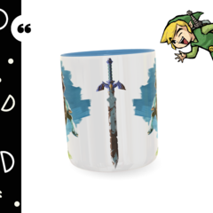 Caneca personalizada The Legend of Zelda - Breath of the Wild na internet
