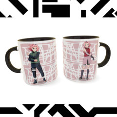 Caneca Sakura Exclusiva Geek Love Art