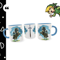 Caneca personalizada The Legend of Zelda - Breath of the Wild