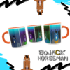 Caneca BoJack Horseman Colors (Modelo 2) - Geek Love