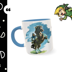 Caneca personalizada The Legend of Zelda - Breath of the Wild - comprar online