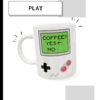 Caneca Gameboy Coffee na internet