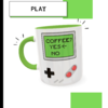 Caneca Gameboy Coffee - Geek Love