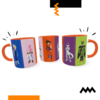 Caneca Exclusiva Geek Love Art Dragon Ball
