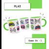 Caneca Exclusiva Geek Love Art Games - loja online
