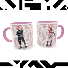 Caneca Sakura Exclusiva Geek Love Art na internet