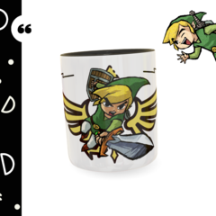 Caneca personalizada The Legend of Zelda - comprar online