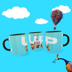 Caneca UP Movie Exclusiva Geek Love Art  (Modelo 2)