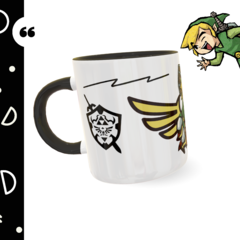 Caneca personalizada The Legend of Zelda na internet