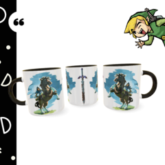 Caneca personalizada The Legend of Zelda - Breath of the Wild - Geek Love
