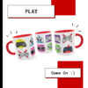 Caneca Exclusiva Geek Love Art Games na internet