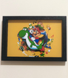 Quadro 3D Super Mario World