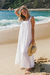 Vestido Cotton Off White - Ruela