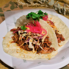 Tacos Pulled Pork x2