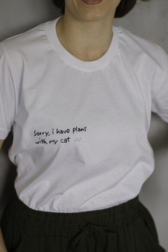 T-Shirt Sorry Cat na internet