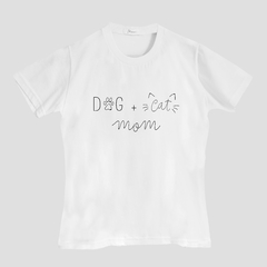 Imagem do T-Shirt Dog + Cat Mom
