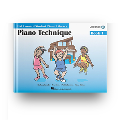 PIANO TECHNIQUE - BOOK 1 CD - HL-0296563 - comprar online