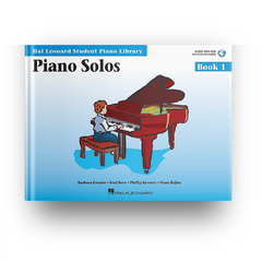 PIANO SOLOS - BOOK 1 CD - HL-0296568