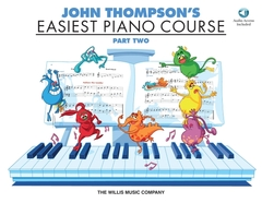 Easiest Piano Course Part 2 C/ Cd - John Thompson'S