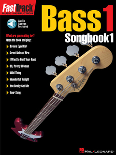 Fasttrack Bass Songbook 1 - Level 1  - HL-00697289